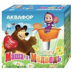 "Аквафор Арт ""Маша и Медведь"""